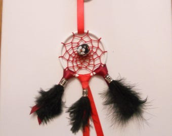 Dream catcher keychain or bag charm