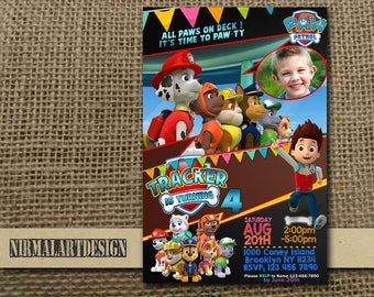 Paw Patrol Invitation,Paw Patrol Birthday,Paw Patrol Party,Paw Patrol Card,Paw Patrol Printable,Paw Patrol Birthday Party,Paw Patrol_BS044