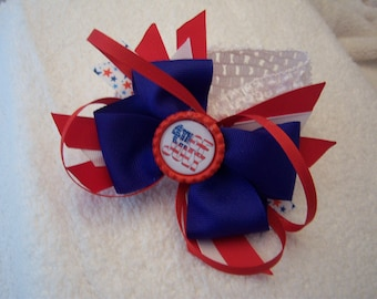 July 4th Hair Bow