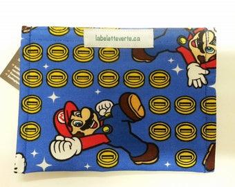 Snack bag Mario Video Games (size small) Snack Bag machine washable & reusable Bros.