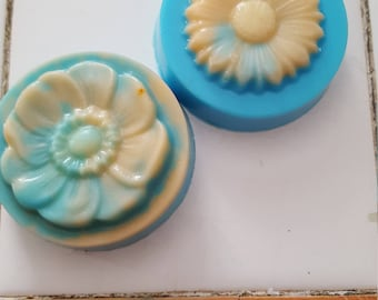 Flower soaps (three pack)
