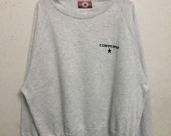 Vintage 90's Converse Sweatshirts Size Double LL