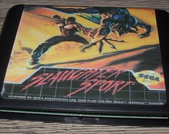 Game Megadrive Mega Drive Genesis: Slaughter Sport Customized