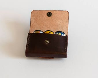 Leather film/battery pouch