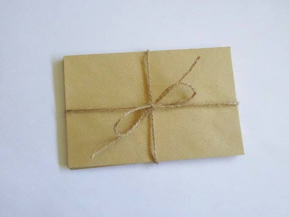 Set Of 10 Envelopes Wedding Envelope Decorative