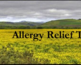 NEW Allergy Relief Tea
