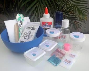 Beginner's Slime Kit Fluffy Slime + Butter Slime