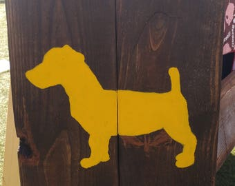 Jack Russell Terrier Sign