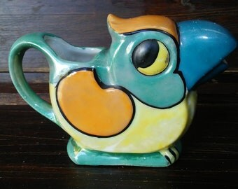 Vintage Lusterware Japan Bird Creamer