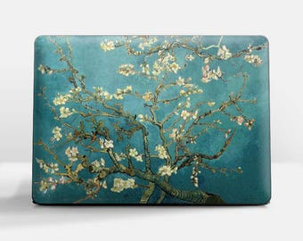 "Laptop skin (Custom size). Vincent Van Gogh, ""Blossoming Almond Tree"". Laptop cover, HP, Lenovo, Dell, Sony, Asus, Samsung etc."