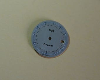 FRED Force ID watch dial