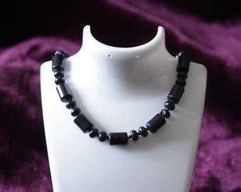 Blue Sandstone beaded Necklace