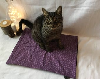 Kitty Cat Mat - Purrple Paws