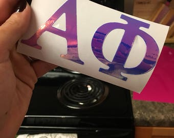 Holographic Alpha Phi Decal