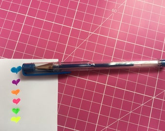 Neon Blue 1.00 mm rollerball pen