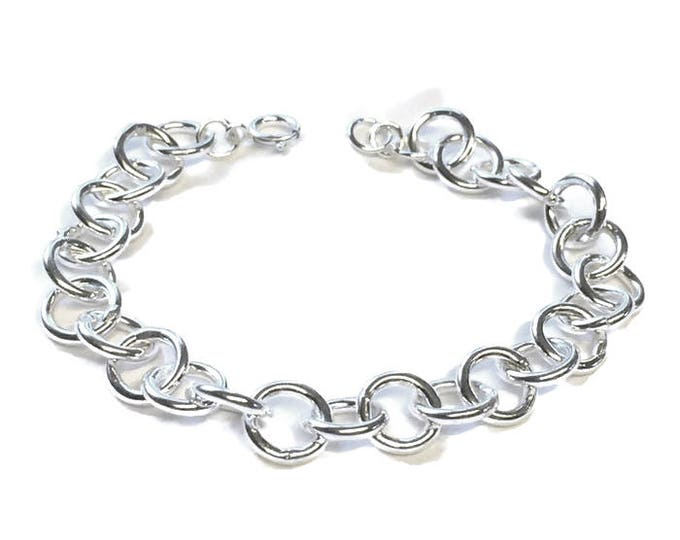 Heavy Duty Cable Chain Bracelet