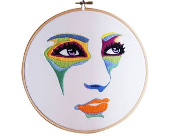 20% out! Face Embroidery (3)