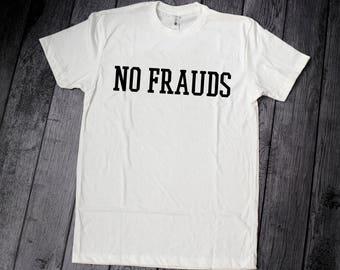 No Frauds Shirt, Nicki Minaj Shirt, Lil Wayne Shirt, Drake Shirt, No Fraud, No Frauds Tee, Nicki Minaj No Frauds, No Frauds T-shilrt