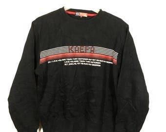 Off 10%!! Vintage KAEPA Black Sweatshirt/Sweater