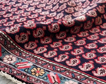 Ashti - Vintage Lilihan Persian Carpet