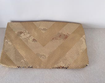 Whiting and Davis Vintage Metal Mesh Clutch