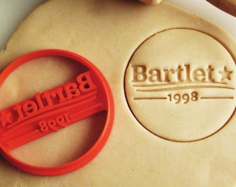 """The West Wing """"Bartlet 1998"""" Campaign Cookie Cutter"""