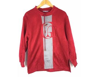 LASA Knitwear Long Sleeve Sweatshirt Pull Over Medium Size Sweatshirt
