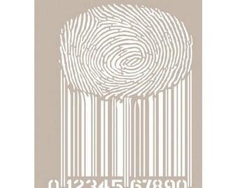 Stencil 21 x 30 cm, MA-36, Home Decor, Mixed Media, airbrushing stencils, fabric stencils, furniture stencils.