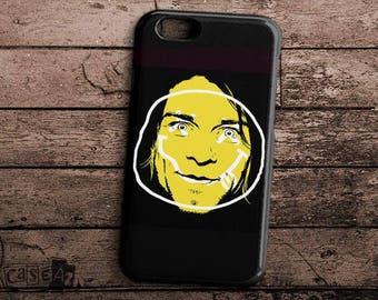 Nirvana Logo Kurt Cobain 3D iPhone 7 CaseNirvana Logo Kurt Cobain iPhone 6 Case Nirvana Logo Kurt Cobain iPhone 5 Case