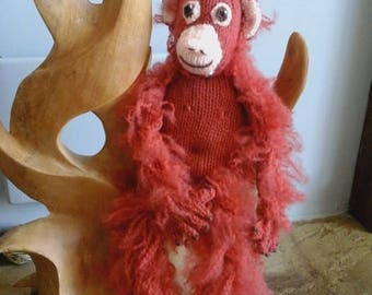 Knitted Orangutan