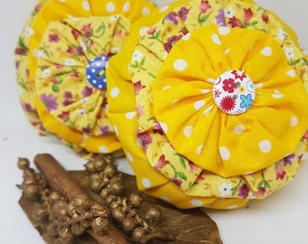 Aromatic handmade lavender sachets