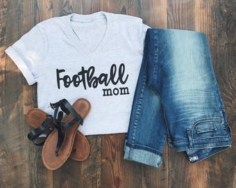 Football Mom - Football Shirt - Football Tee - Mom shirt