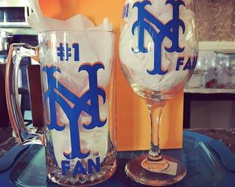 Sports Wine and Beer Mug Set