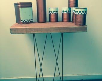 Copper planter set