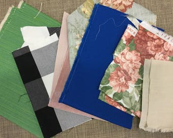 5 Lb Small Fabric Remnants *FREE SHIPPING*