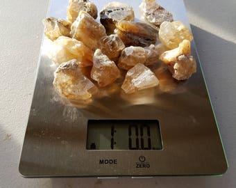 The Lifting, Bulk Stones: Lot 1 - 1 Pound of Honey Calcite