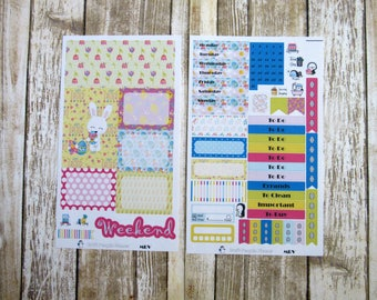 Hoppy Easter Weekly, MINI RECOLLECTIONS, Easter weekly kit, spring weekly