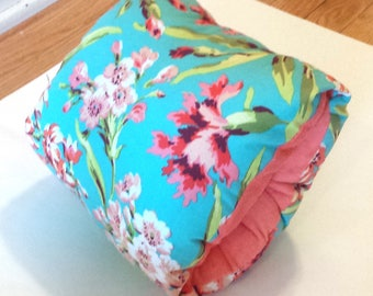 Breastfeeding arm pillow, Floral nursing arm pillow,baby feeding pillow,cuddle upz arm pillow, feeding pillow, support pillow