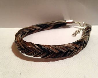 Simple horsehair bracelet