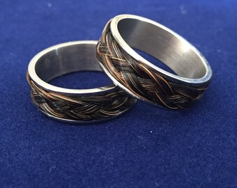 Horse Hair Ring, size 10