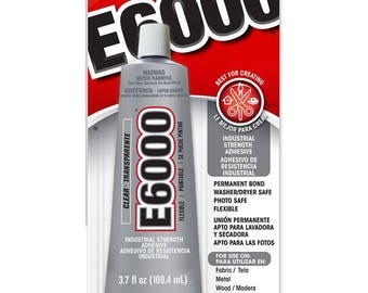 E6000 Adhesive 3.7 FL OZ. The most popular Craft adhesive