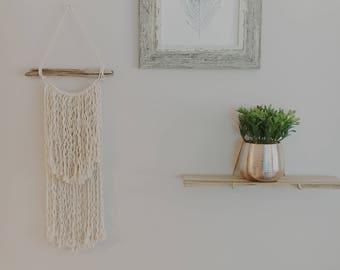 Boho Wall Hanging / Knots / Modern Macrame
