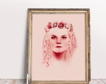 Emma Swan digital watercolor