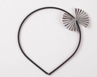 Headband hair accessory aluminium Fan