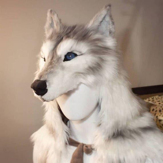 how to make a wolf headdress