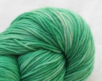 Hand Dyed 'Patina' 4 ply Australian Sock Yarn 100 grams