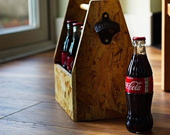 Wooden 'OSB' Beer Caddy