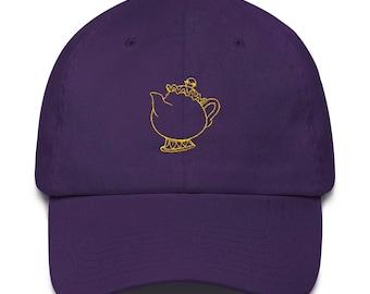 Mrs Potts Teapot Baseball Hat