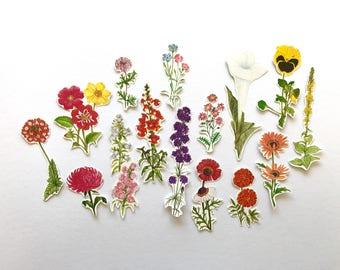 Flower ephemera / weheartconfetti