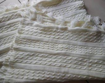 Plaid wool, handmade blanket, wool blanket, blanket, plaid, weighted blanket, winter, winter blanket plaid,